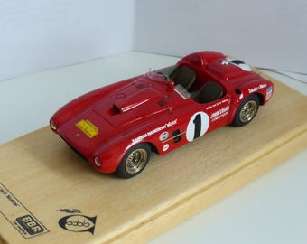 Ferrari 375 MM Carrera Panamericana 1954 Jack McAfee 1:43 BBR Model built by Remember Models studio