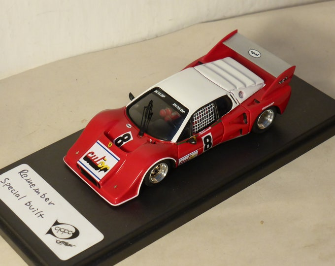 Ferrari 512 BB Turbo IMSA Chateau Le Mans tests 1978 REMEMBER Models 1:43 - Factory built