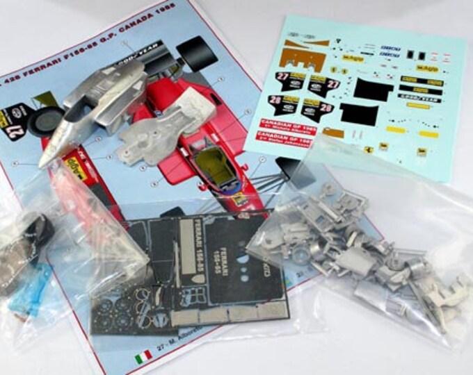 Ferrari 156/85 Formula 1 Canadian GP 1985 Montreal Alboreto or Johansson TAMEO Kits TMK428 1:43