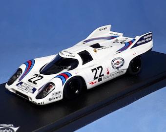 Porsche 917 K Martini Racing Le Mans 1971 winner #22 Marko/VanLennep REMEMBER Models 1:43 factory built