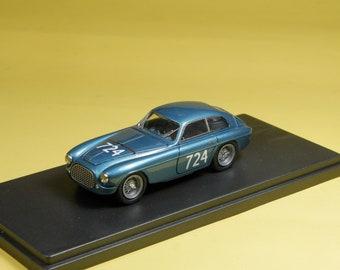 Ferrari 195S Coupé Mille Miglia 1950 #724 winner Marzotto/Crosara 1:43 Tameo built by Remember Models studio