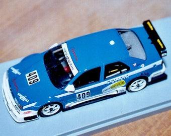 Alfa Romeo 155 V6-TI Polizia Trento-Bondone 1997 Alan Gomboso Remember KIT 1:43