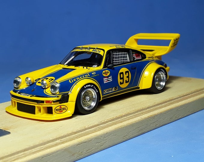 Porsche 934/5 IMSA Whittington Bros 12 hours Sebring 1978 #93 Whittington/Boy MADYERO by Remember Models 1:43 - Factory built