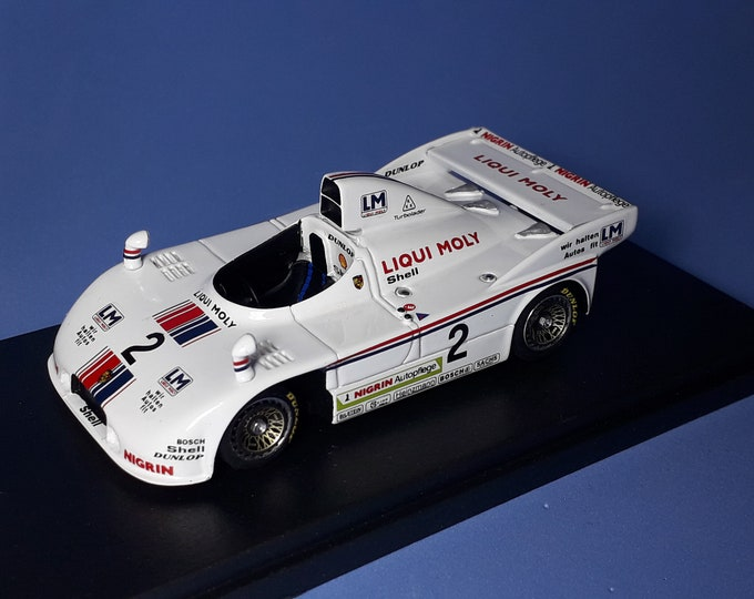 Porsche 908/4 Turbo Gr6 Joest Liqui Moly Interserie Most 1980 Volkert Merl REMEMBER Models 1:43 - Factory built