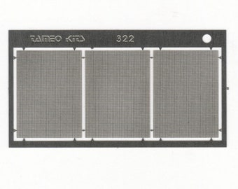 photo etched 1:43 grilles / calandres / griglie / Netz (3 pieces) Tameo FT44