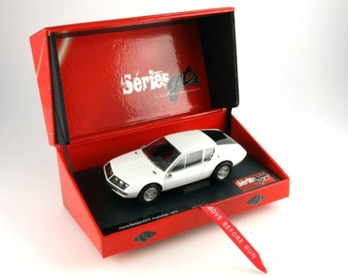 Alpine Renault A310 white GTS Série Le Mans Miniatures slot car 1:32 132043WM
