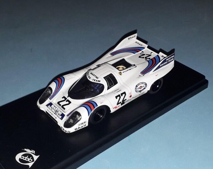 Porsche 917 K Martini Le Mans 1971 winner #22 Marko/VanLennep  REMEMBER Models 1:43 factory built