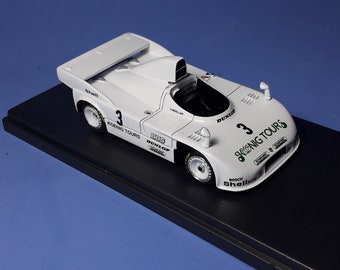 Porsche 908/4 Turbo Gr6 Siggi Brunn / Herbert Mueller 1000km Nurburgring 1981 #3 REMEMBER Models 1:43 - Factory built