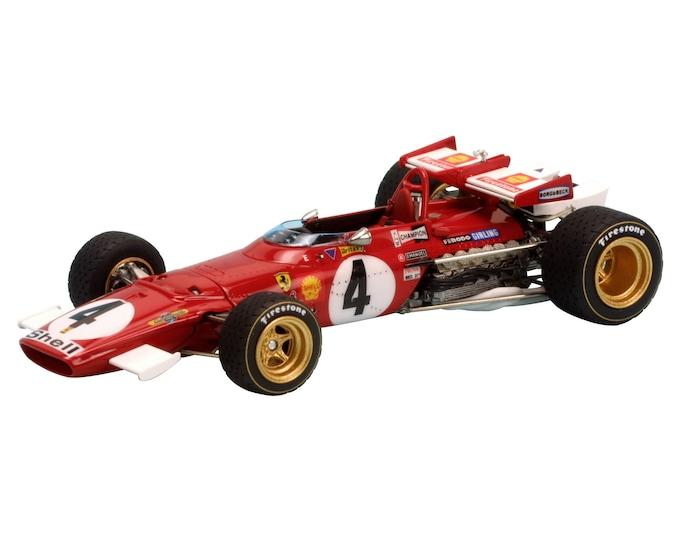 Ferrari 312 B Formula 1 Monza Italian GP 1970 Giunti or Ickx TAMEO Kits TMK344 1:43