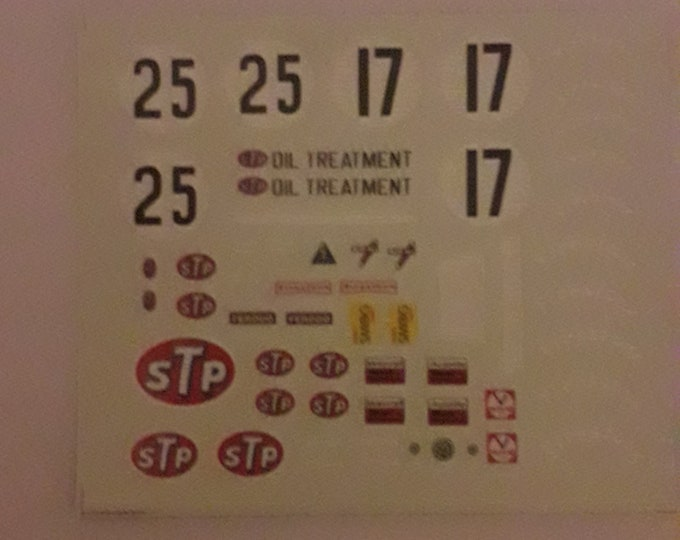 high quality 1:43 decals for March Ford Cosworth 711 Formula 1 1971 Peterson TK251