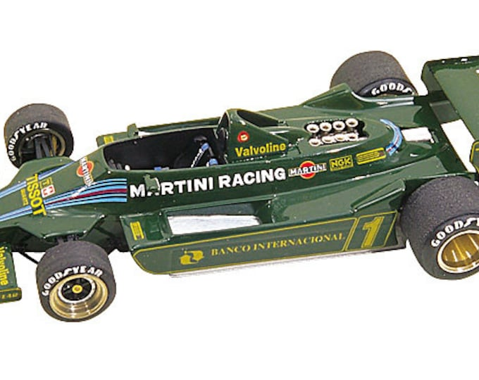 Lotus Ford Cosworth 79 F.1 Argentine GP 1979 Andretti or Reutemann Tameo Kits TMK175 1:43
