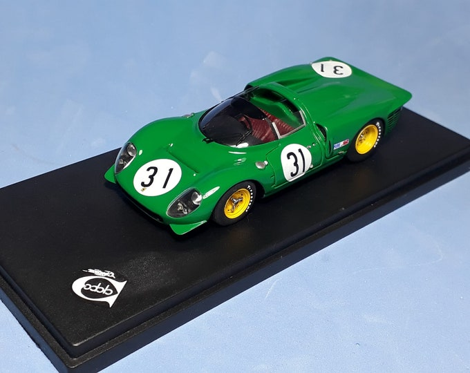 Ferrari 365 P2/3 ch.0836 24h Daytona #31 Piper/Attwood REMEMBER Models 1:43 factory built