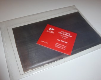 Tin foil mm 150x100 (mm0.2 thickness) Amati #2700/40