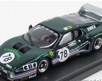 Ferrari 512BB ch.27577 Crockford's Le Mans 1980 #78 O'Rourke/Down/Phillips Remember Models kit 1:43