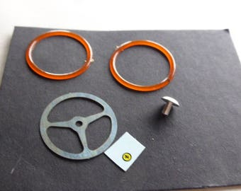 steering wheel for Ferrari 250 GTO, 275 GTB, 250 LM and other racing/Gt cars 1:18 Remember SP60