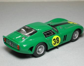 Ferrari 250 GTO 4491GT Ilford Film Trophy Brands Hatch 1964 #38 David Piper Remember Models kit 1:43