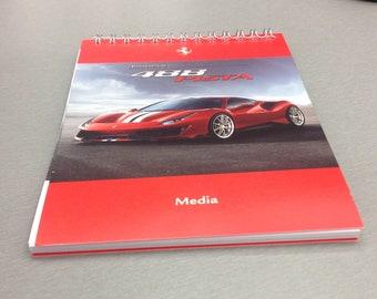 Ferrari 488 Pista Geneva Saloon 2018 official media press-kit