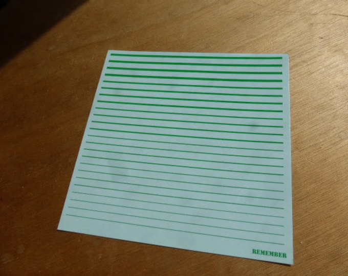 high quality 1:43 decals filets (green) Remember TK69/10