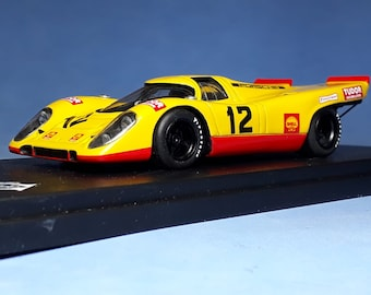 Porsche 917K Team AAW 1000km Monza 1970 #12 Laine/Van Lennep REMEMBER Models 1:43 factory built