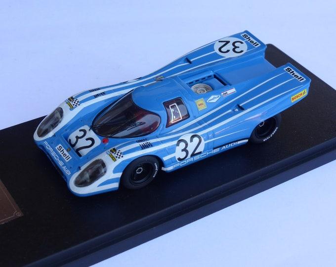 Porsche 917K Team Salzburg Racing 6 hours Watkins Glen 1970 #32 Attwood/Ahrens Fast by Ciemme43 1:43 factory built
