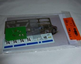 multimedia 1:43 transkit (photoetches, lights, decals etc) for Ferrari 250 GT SWB Le Mans 1961 #14 Madyero TK127