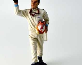 Jack Brabham Reims GP 1966 1:18 high quality figure Le Mans Miniatures FLM118029