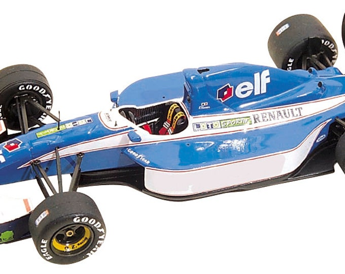Ligier Renault JS37 French GP 1992 Comas or Boutsen Tameo Kits TMK160 1:43