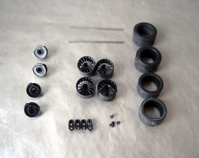 1:24 BBS wheels, disc brakes and tires for Audi R10 LMP1 and other LMP1 cars Le Mans Miniatures ACW124027