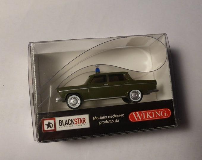 Fiat 1800 Berlina Polizia Italiana Blackstar by Wiking BS00046 1:87 H0