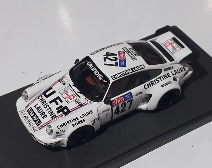 Porsche 911 Carrera RSR Christine Laure Tour Auto 1976 Henry/Grobot Madyero by Remember 1:43 Factory built