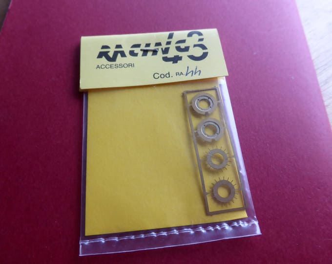 photo etched spats for O.Z. rally wheels 1:43 Racing43 RA44