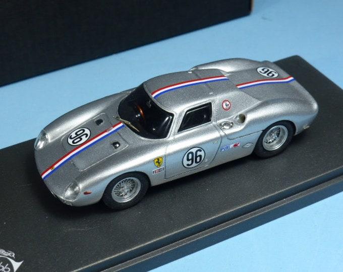 Ferrari 250 LM 5909GT 500 miles of Road America 1965 #96 Grossman/Holquist 1:43 Remember Models factory built
