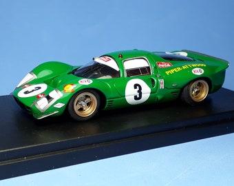Ferrari 330 P3/4 ch.0854 Kyalami 9h 1968 #3 Piper/Attwood REMEMBER Models 1:43 Factory built