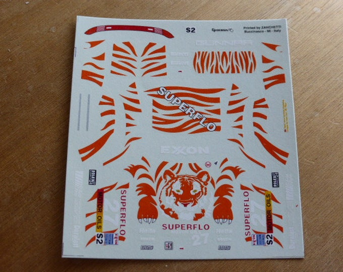 high quality 1:43 decals Porsche 993 911 Carrera RS Gunnar-Superflo 24h Daytona 1996 #27 Refenning/Vargo