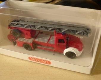 Magirus Deutz DL25h Drehleiter Feuerwehr Wiking 8623939 1:87 H0