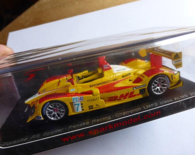 Porsche RS Spyder lmp2 Penske Alms 2007 champion Spark S4185 still sealed 1:43 SHIPPING OFFERED