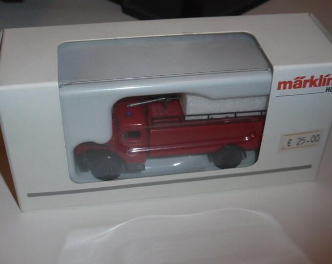 MAN type F8 Dry Powder Fire Extinguishing Truck Maerklin 18751 1:87 H0