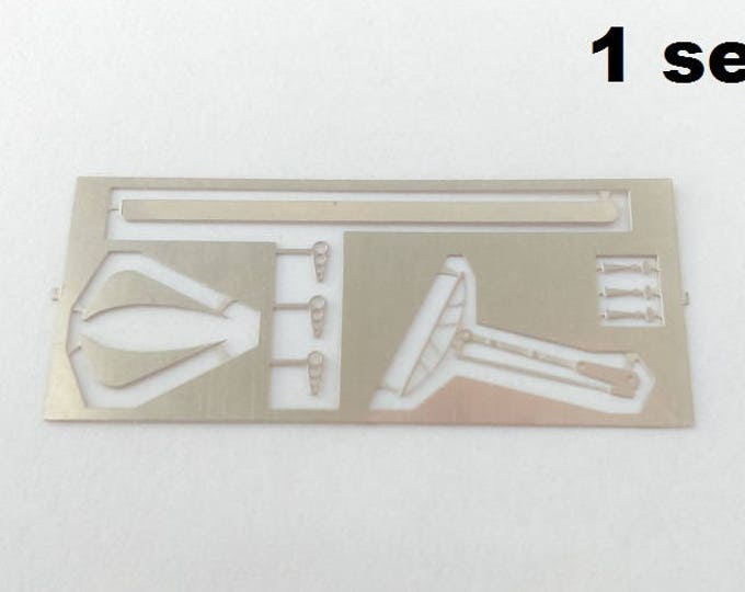 Set of photo-etched parts for Ferrari 330 P4, 412P, 330 Can-Am for 1:43 scale models