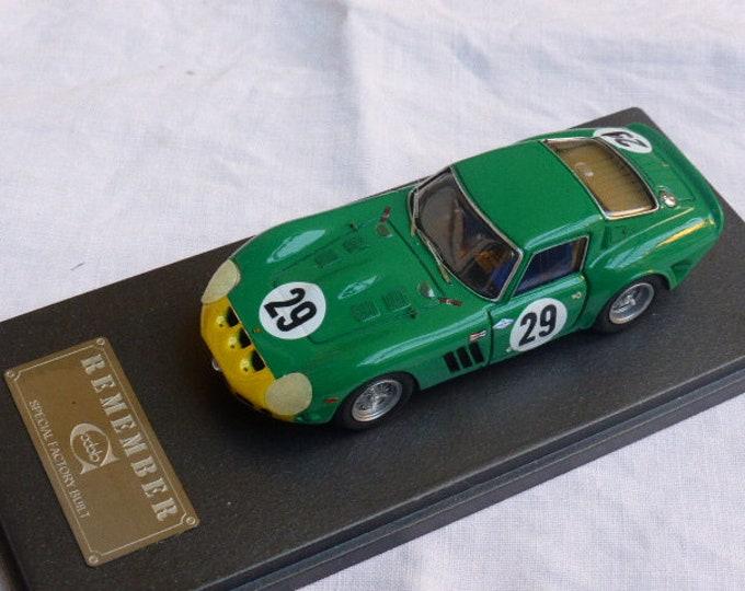 Ferrari 250 GTO 3767GT 12h Sebring 1963 #29 Piper/Cantrell Remember Models KIT 1:43