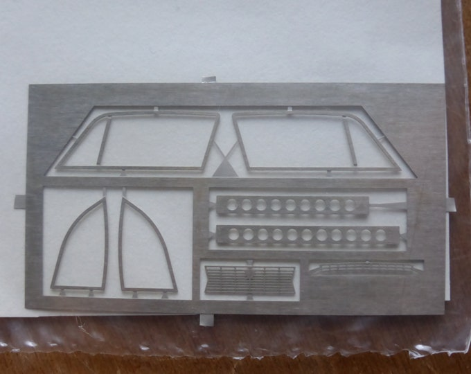 Set of photoetched parts for Lancia Fulvia Zagato (for diecast, kits etc) Carrara Models SP89 1:43
