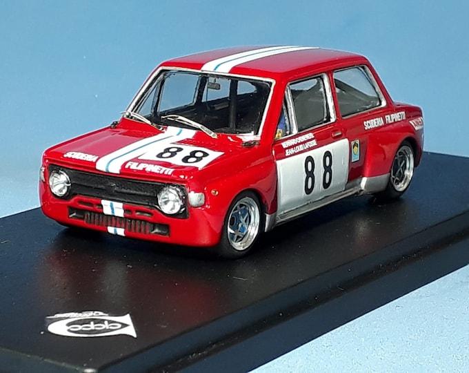 Fiat 128 1300 Gr.2 Scuderia Filipinetti ETCC 4h Monza 1972 #88 Lafosse/Chenevière REMEMBER Models 1:43 Factory built