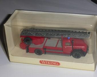 Magirus Deutz DL25h Drehleiter Feuerwehr Wiking 8623739 1:87 H0