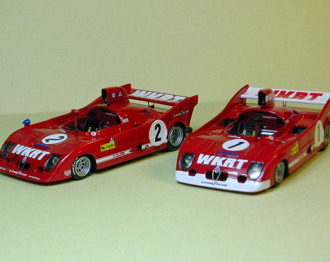 ALFA ROMEO 33TT12 800km Dijon 1975 #1/2 (2 versions options) Madyero 1:43 KIT