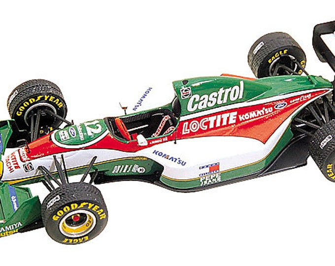 Lotus Ford 107b European GP 1993 Herbert or Zanardi Tameo Kits TMK165 1:43