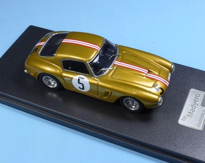 Ferrari 250 GT SWB 2159GT 6 heures d'Auvergne 1961 Spinedi Madyero by REMEMBER Models 1:43 - Factory built