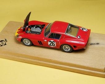 Ferrari 250 GTO 3445GT 12 hours Sebring 1963 #26 Abate / Bordeu REMEMBER Models with engine 1:43 - Factory built