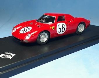 Ferrari 250 LM 5909GT NART Le Mans 1964 #58 Piper/Rindt 1:43 Remember Models factory built