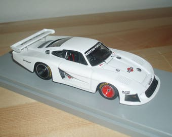 Porsche 935/78 Group 5 Moby Dick Martini Paul Ricard tests 1978 Jacky Ickx REMEMBER kit 1:43