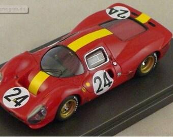Ferrari 330 P4 Coupé Ecurie Francorchamps Le Mans 1967 #24 Mairesse/Beurlys REMEMBER kit 1:43