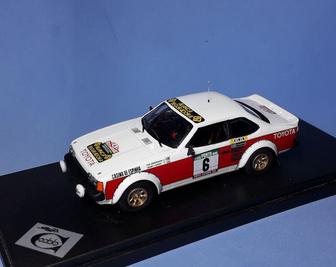 Toyota Celica Gr.2 Rally Portugal 1980 #6 Andersson/Liddon REMEMBER Models 1:43 factory built